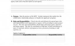 001 Unforgettable Letter Of Understanding Sample Format High Resolution
