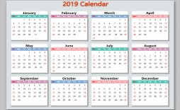 001 Unforgettable Microsoft Excel Calendar Template Highest Quality  Office 2013 M Yearly 2019