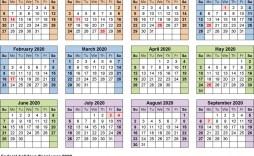 001 Unforgettable Payroll Calendar Template 2020 High Definition  Biweekly Schedule Excel Free