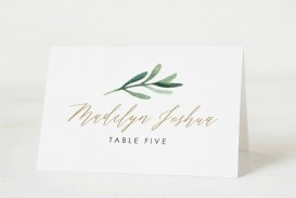 001 Unforgettable Place Card Template Word Sample  Free Name Folding Microsoft Table
