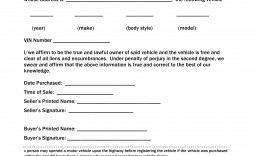001 Unforgettable Template For Bill Of Sale High Resolution  Example Trailer Free Mobile Home Used Car