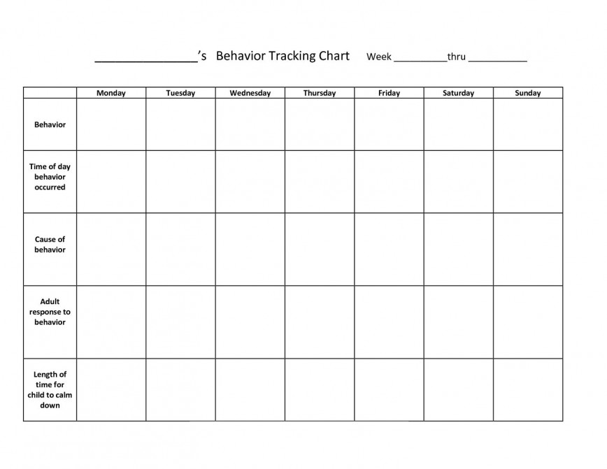 001 Unforgettable Weekly Behavior Chart Template Image  Pdf Free Classroom