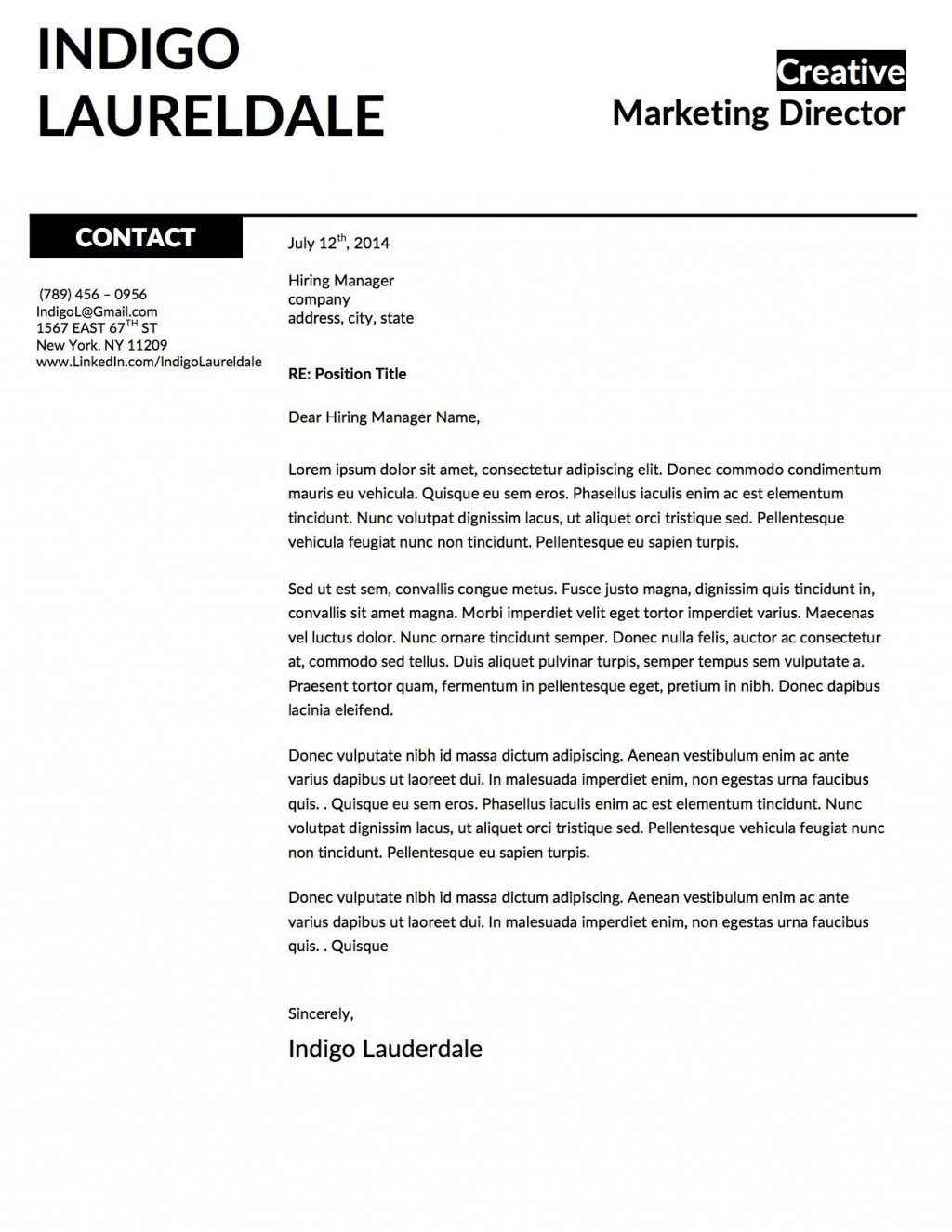 001 Unforgettable Window Resume Cover Letter Template High Resolution  TemplatesLarge