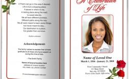 001 Unique Free Funeral Program Template Download Concept  2010 Downloadable Editable Pdf Blank