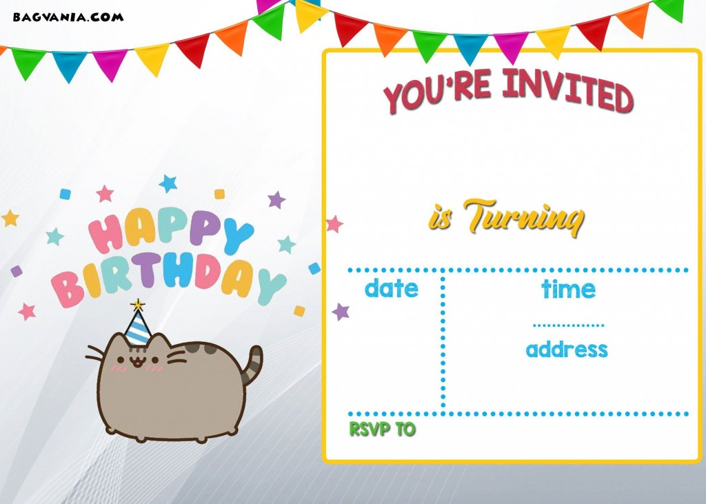 001 Unique Free Online Printable Birthday Invitation Template Picture  Templates Card MakerLarge