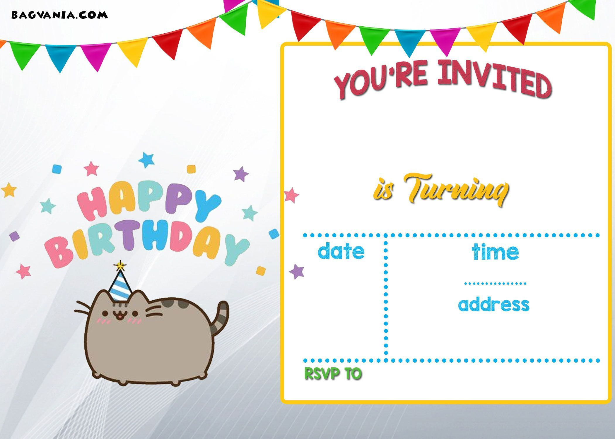 001 Unique Free Online Printable Birthday Invitation Template Picture  Templates Card MakerFull