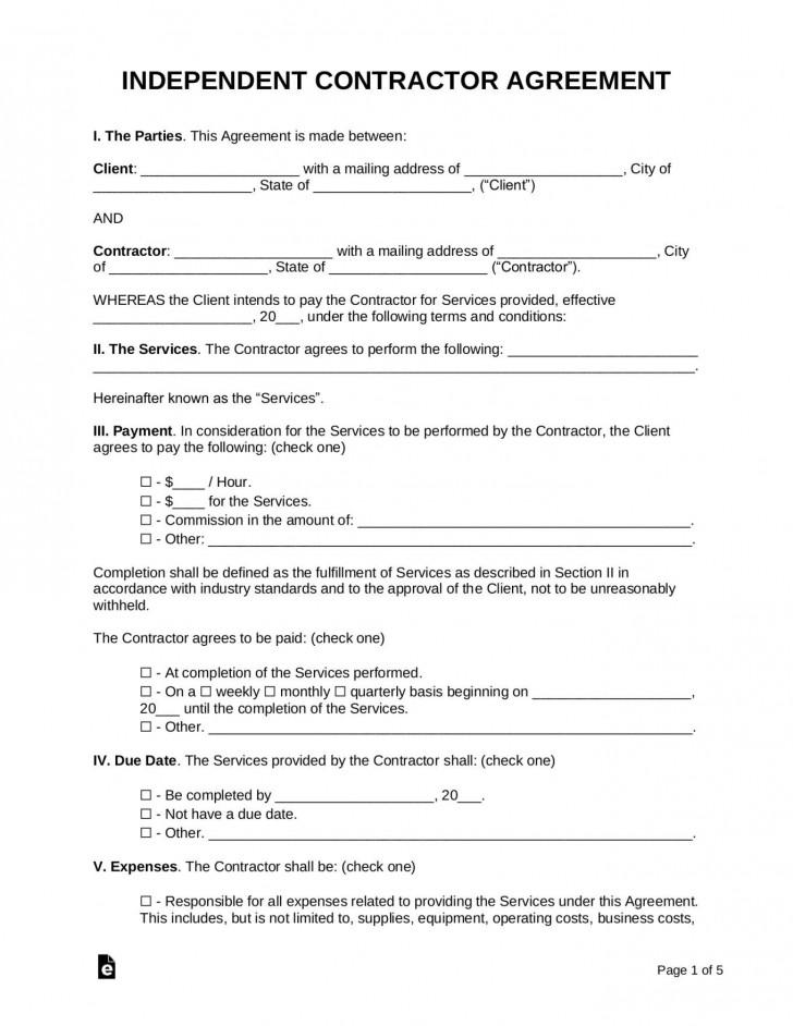 001 Unique Free Service Contract Template Word Concept  Microsoft728