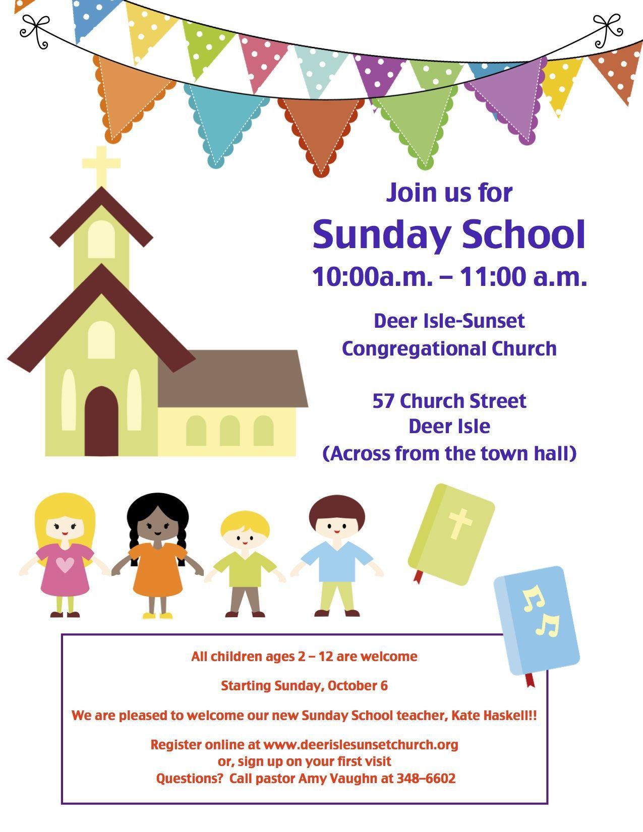 001 Unique Free Sunday School Flyer Template Photo  TemplatesFull