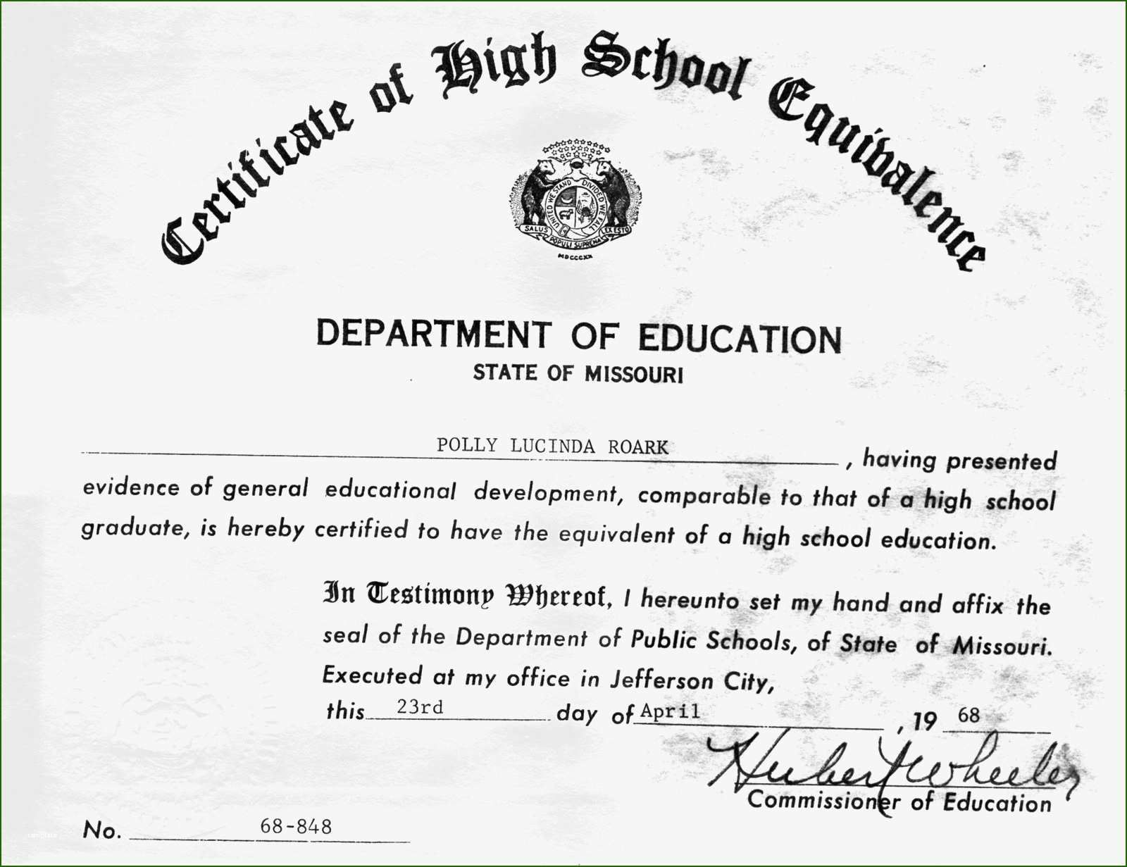 001 Unique Ged Certificate Template Download Image  FreeFull