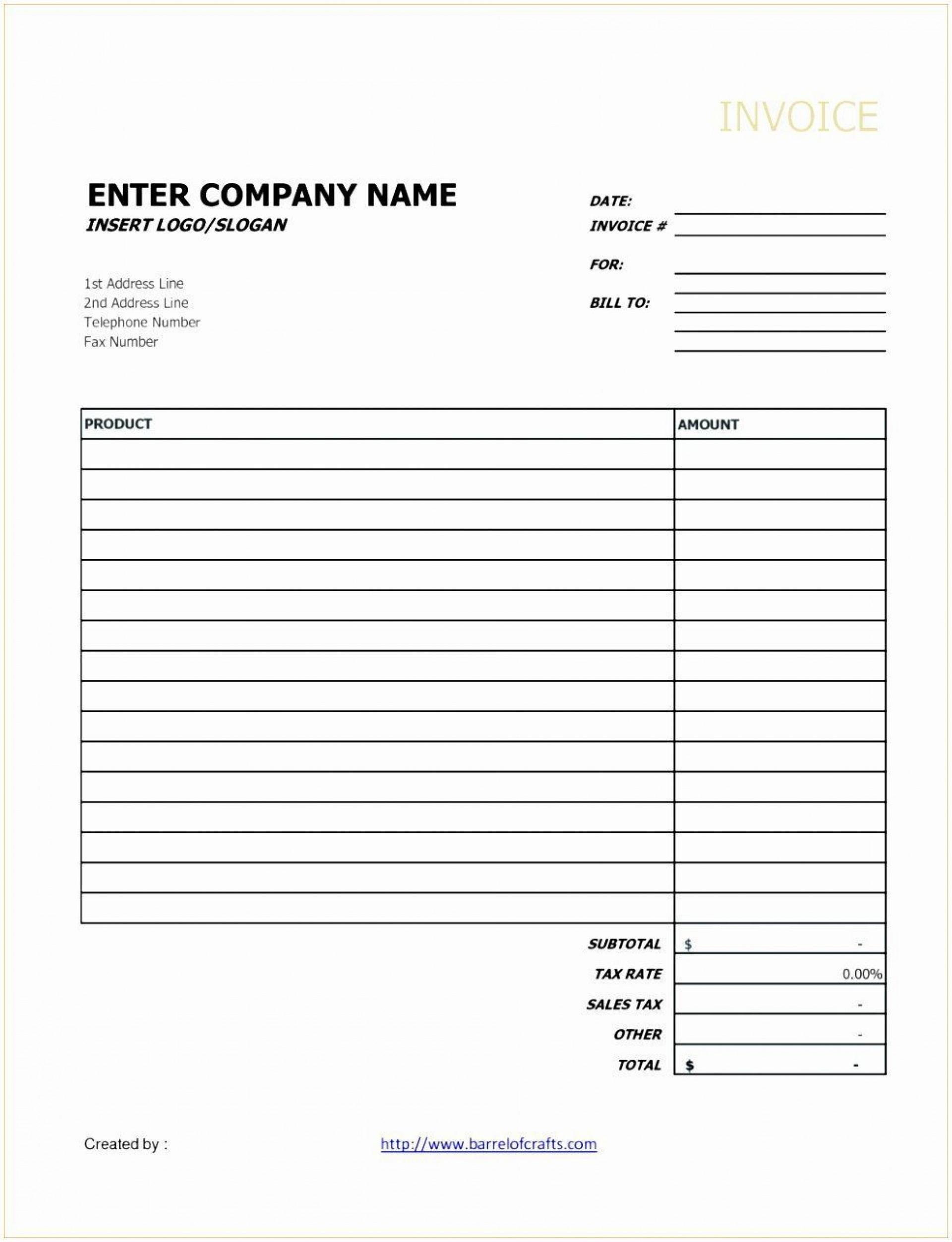 001 Unique Invoice Template Google Doc Concept  Docs Sample Blank Simple1920