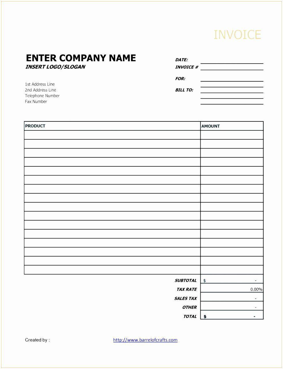 001 Unique Invoice Template Google Doc Concept  Docs Sample Blank SimpleFull