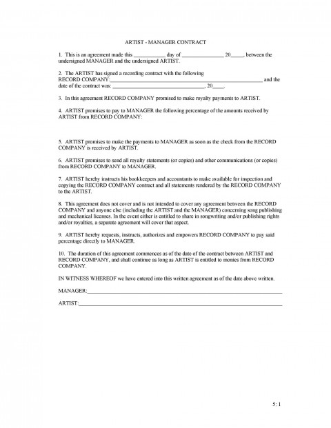 001 Unique Property Management Contract Sample Philippine Inspiration 480