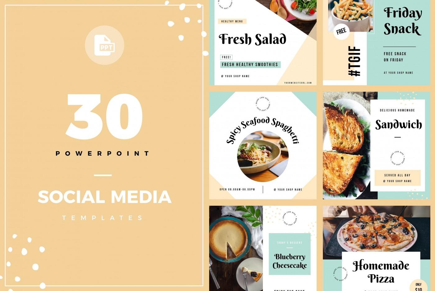 001 Unique Social Media Proposal Template Ppt Design 1400