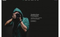 001 Unique Web Template For Photographer Highest Quality  Photographers Photography Free