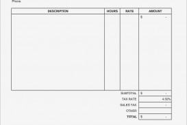 001 Unique Word Invoice Template Free Photo  M Download