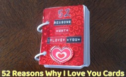 001 Unusual 52 Reason Why I Love You Deck Of Card Free Template Design