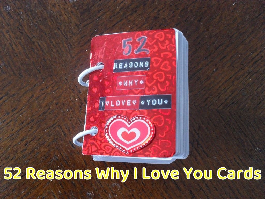 001 Unusual 52 Reason Why I Love You Deck Of Card Free Template Design Full