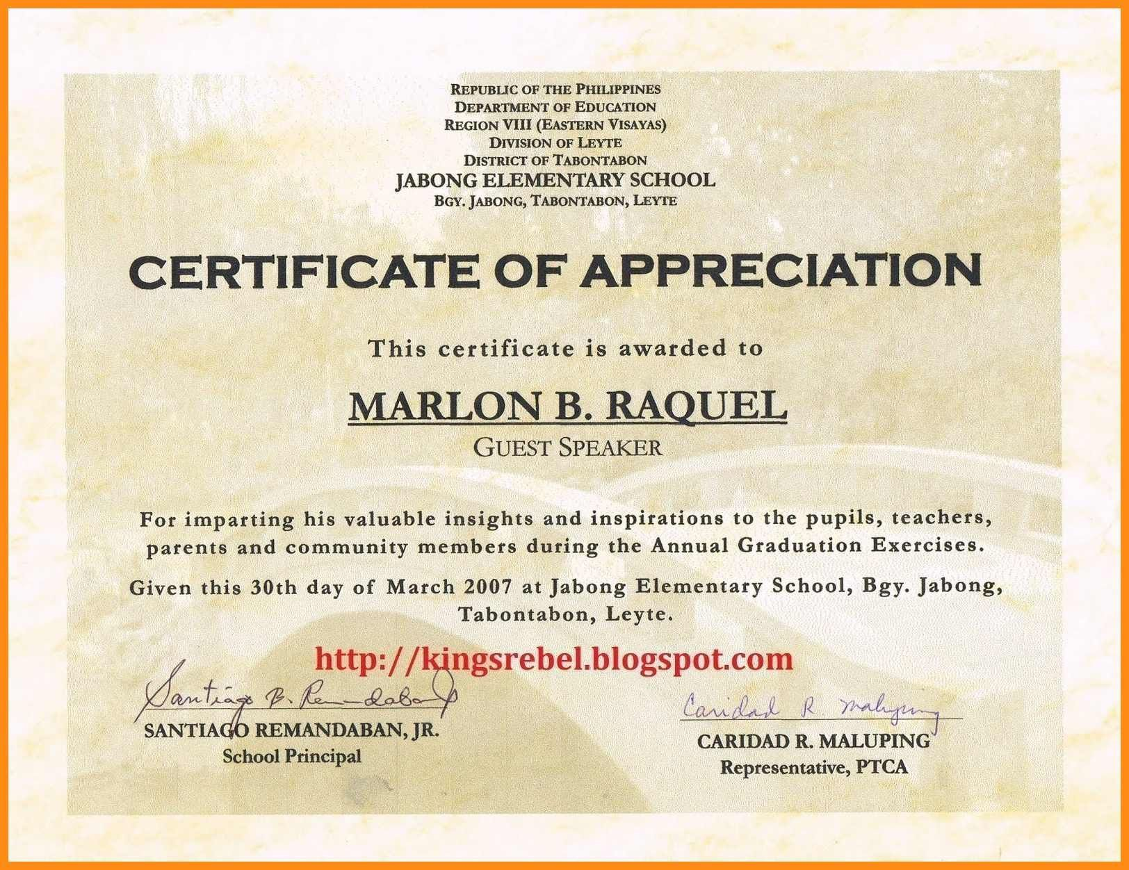 001 Unusual Certificate Of Recognition Sample Wording Highest Quality  AwardFull