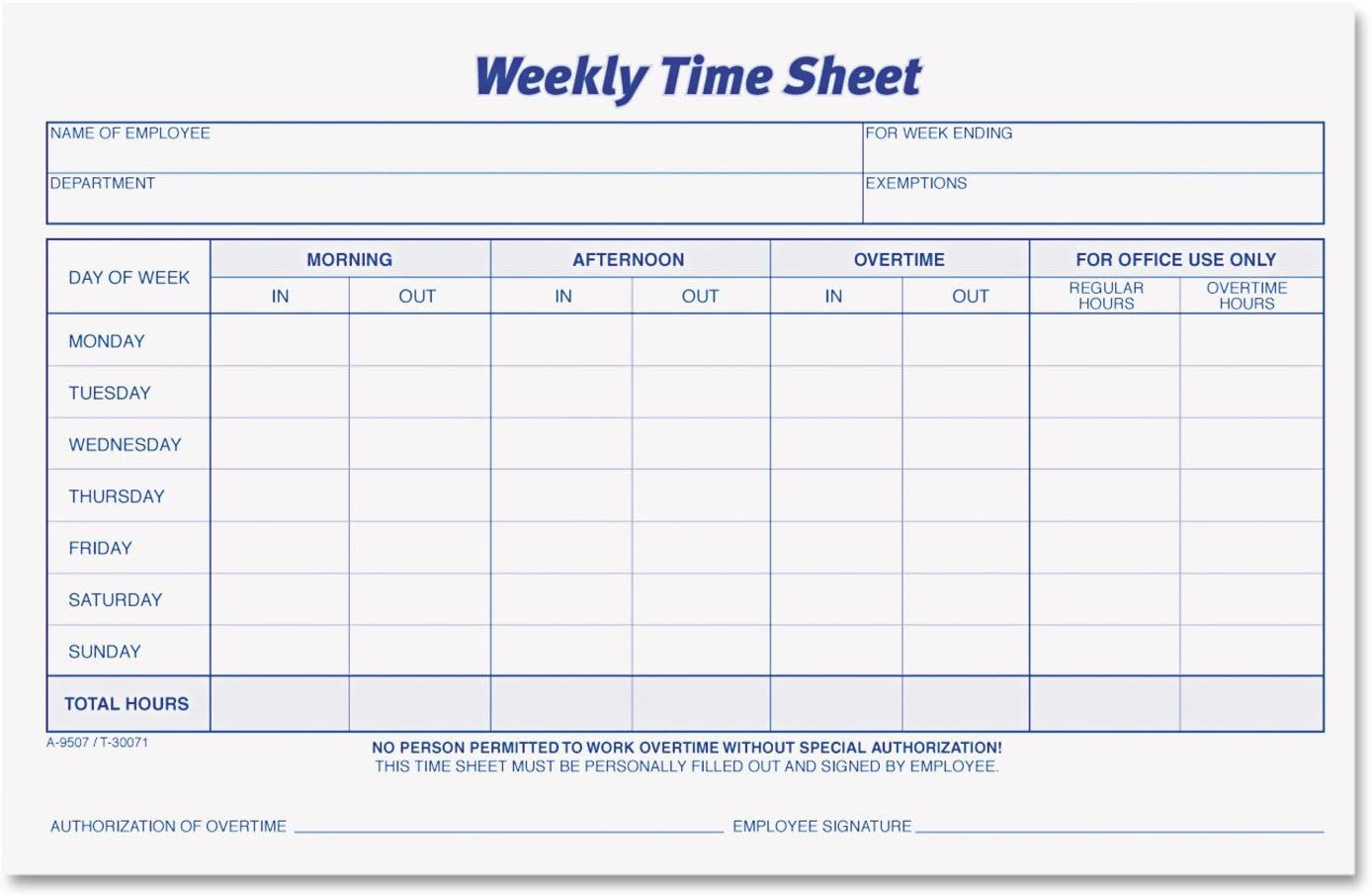 001 Unusual Employee Time Card Form Inspiration  Timesheet Template Excel Sheet FreeFull