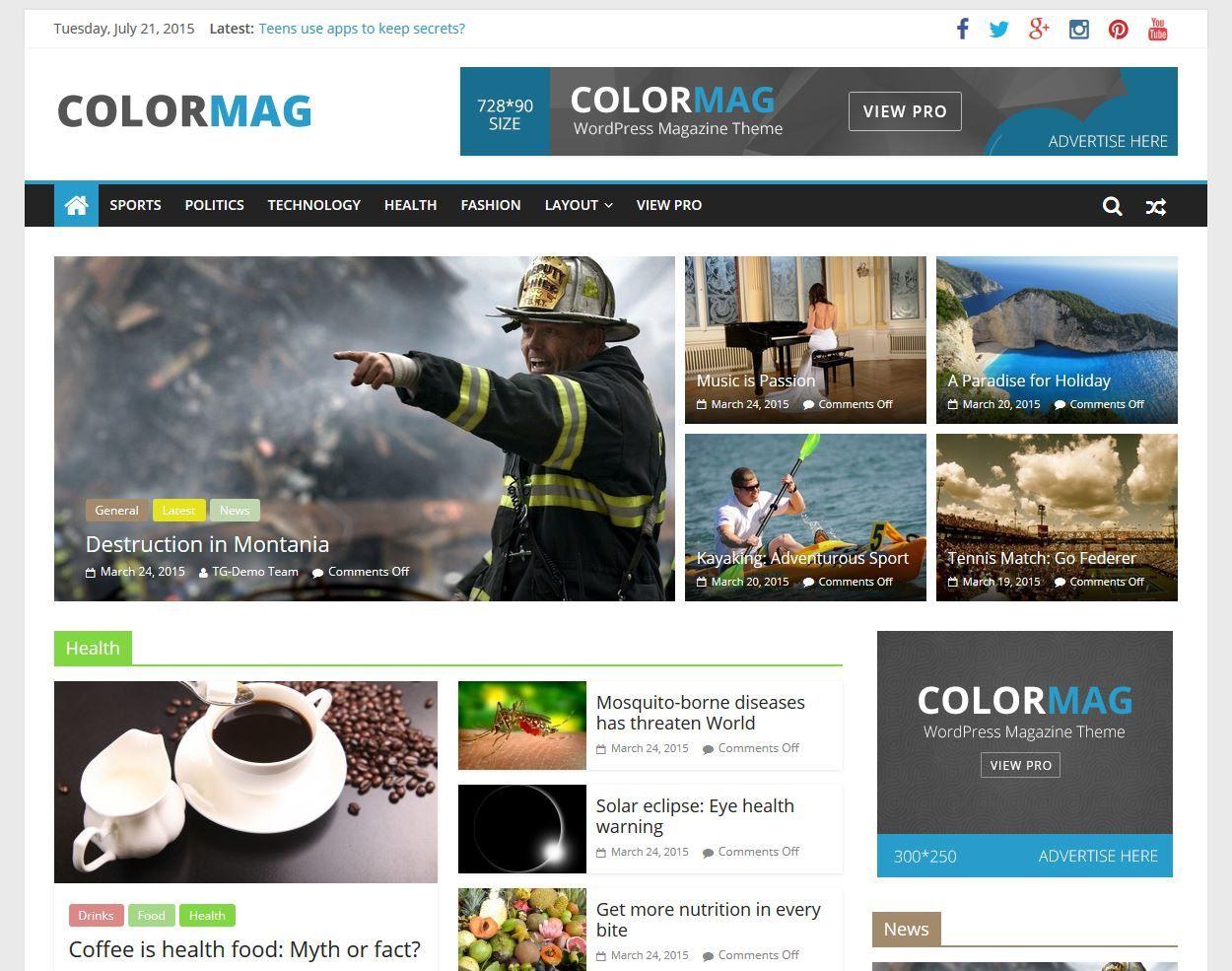 001 Unusual Free Blog Template Wordpres Design  Wordpress Best Travel Theme Food 2020Full