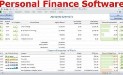 001 Unusual Personal Spending Excel Template Design  Best Budget Planner Free Finance