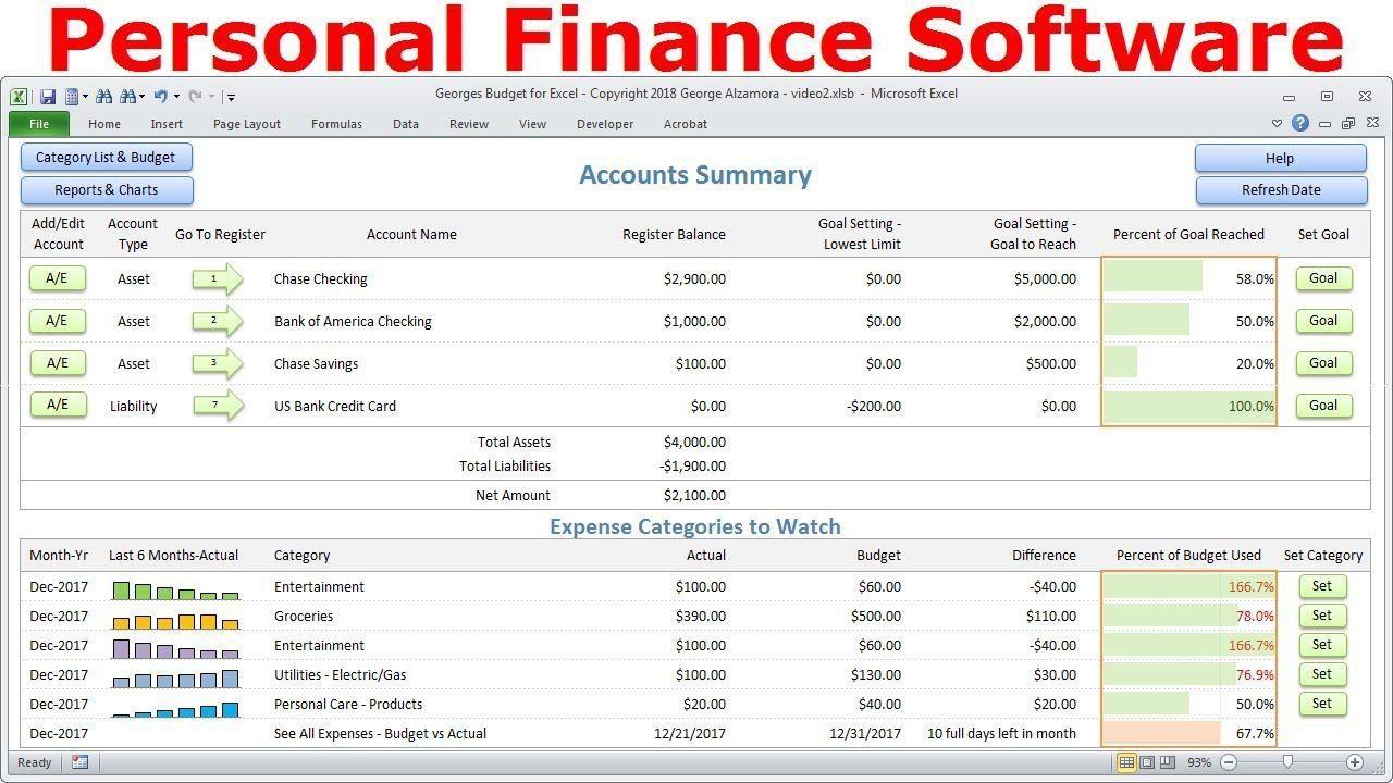 001 Unusual Personal Spending Excel Template Design  Best Budget Planner Free FinanceFull