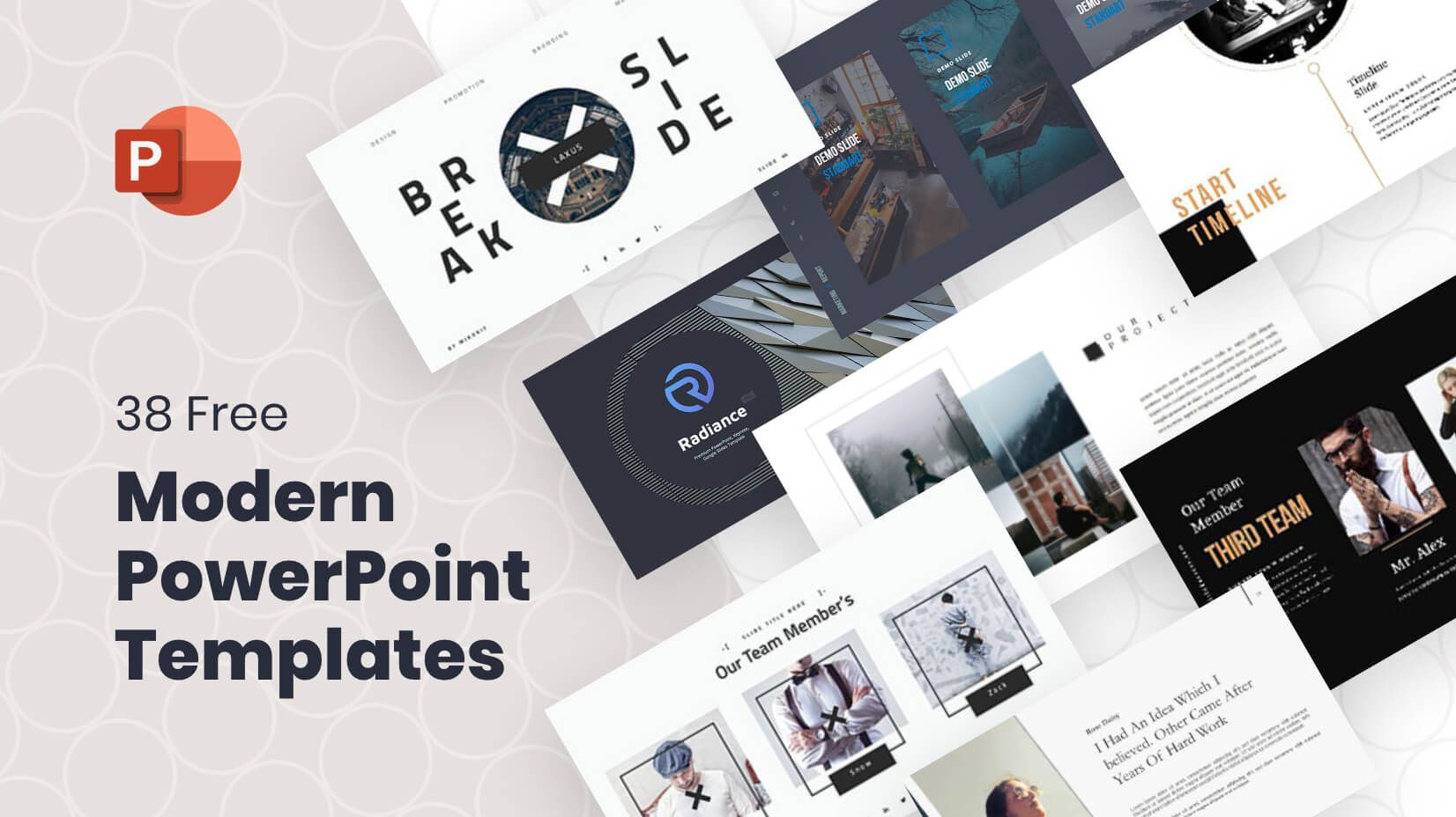 001 Unusual Ppt Slide Design Template Free Download Highest Quality  One Resume Team Introduction Powerpoint PresentationFull