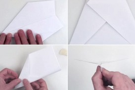 001 Unusual Printable A4 Paper Plane Design