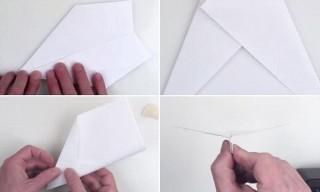 001 Unusual Printable A4 Paper Plane Design 320