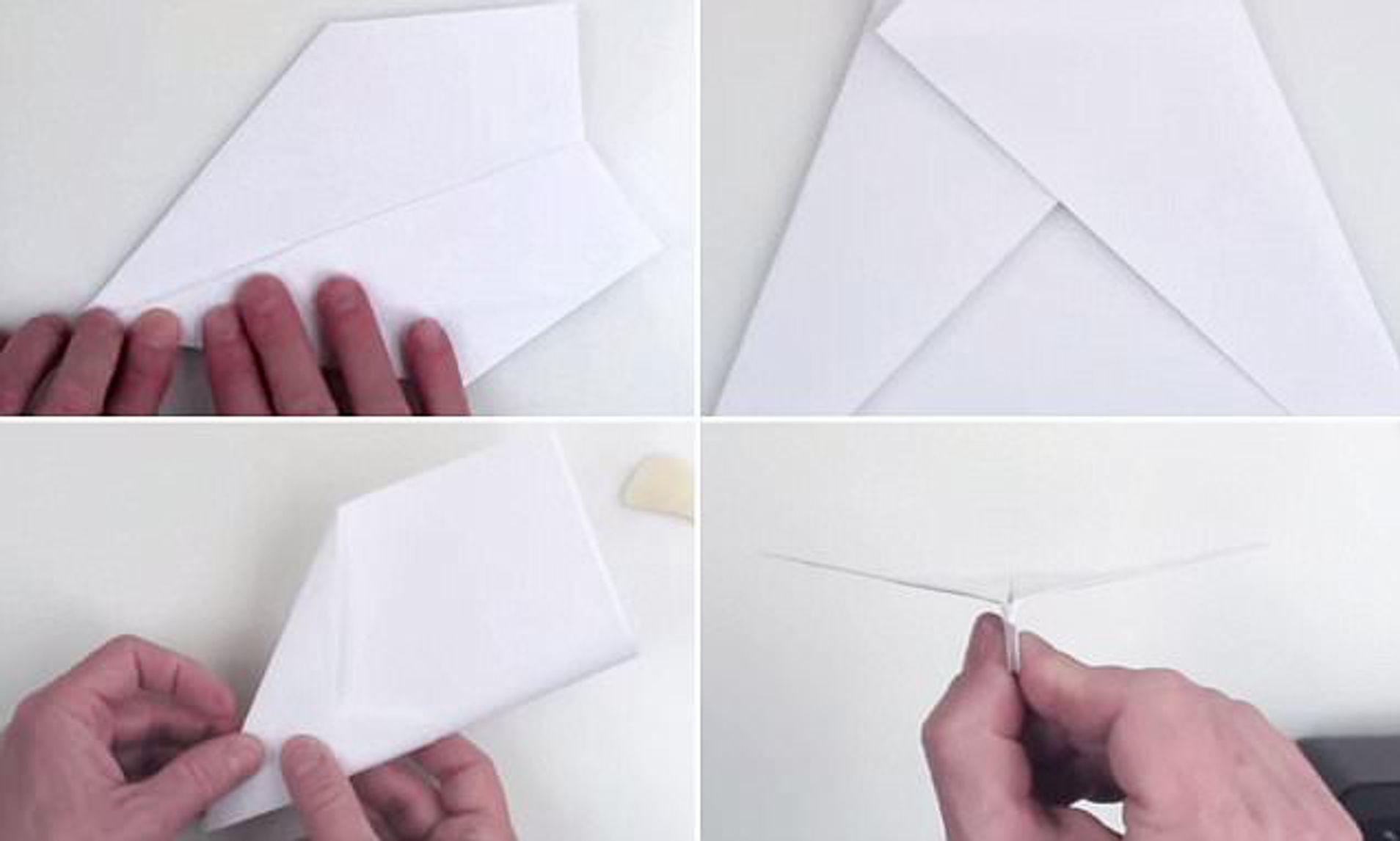001 Unusual Printable A4 Paper Plane Design Full