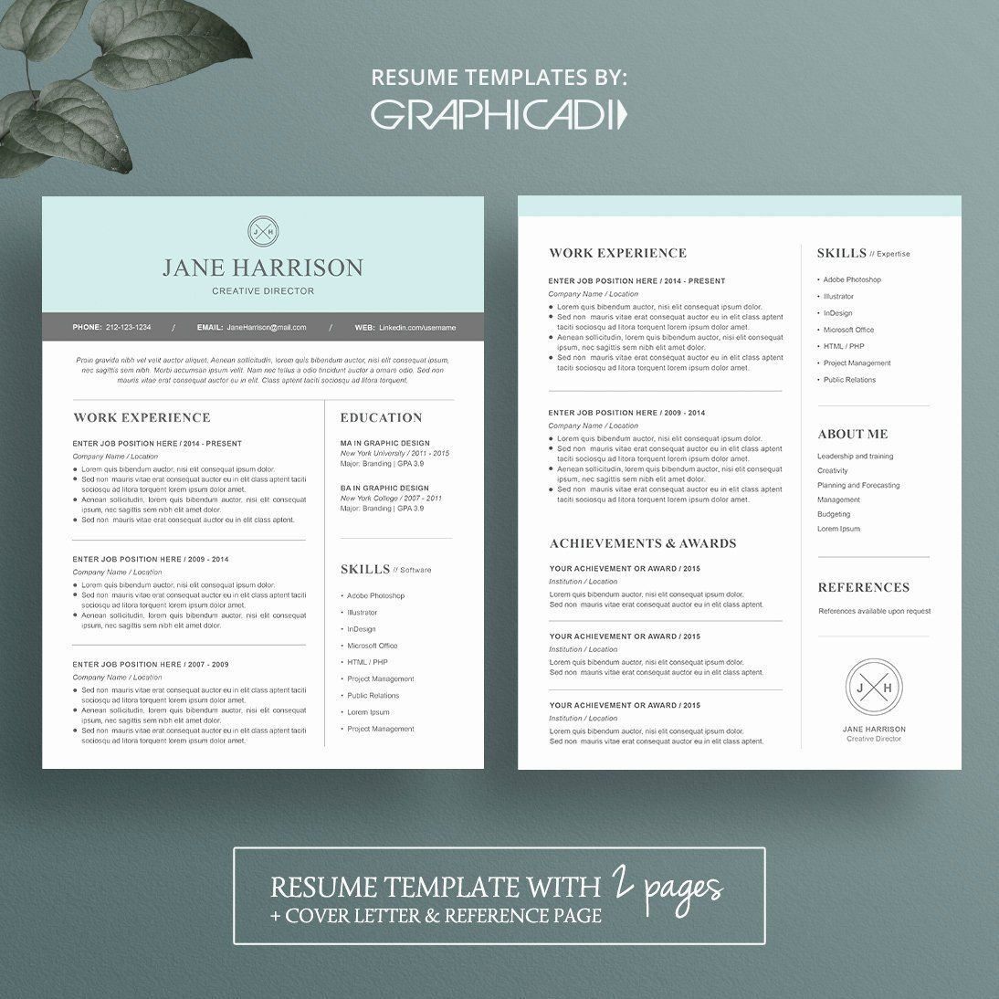 001 Unusual Resume Reference Template Microsoft Word High Resolution  ListFull