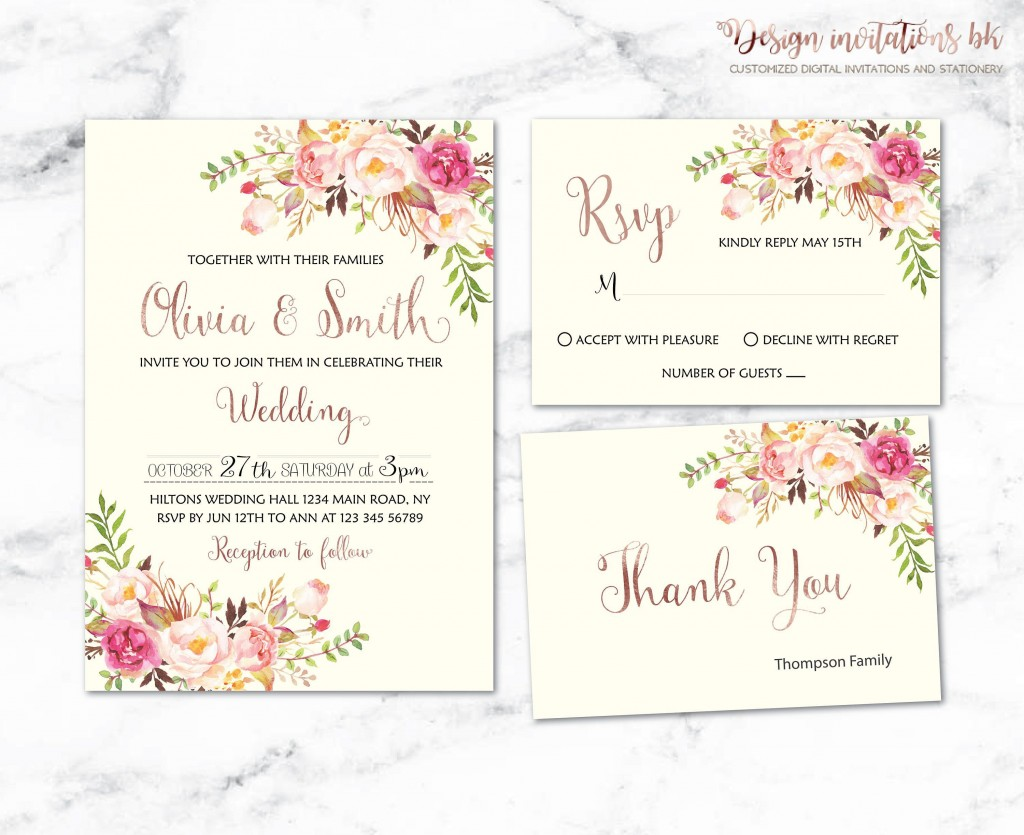 001 Unusual Sample Wedding Invitation Template Design  Templates Wording CardLarge