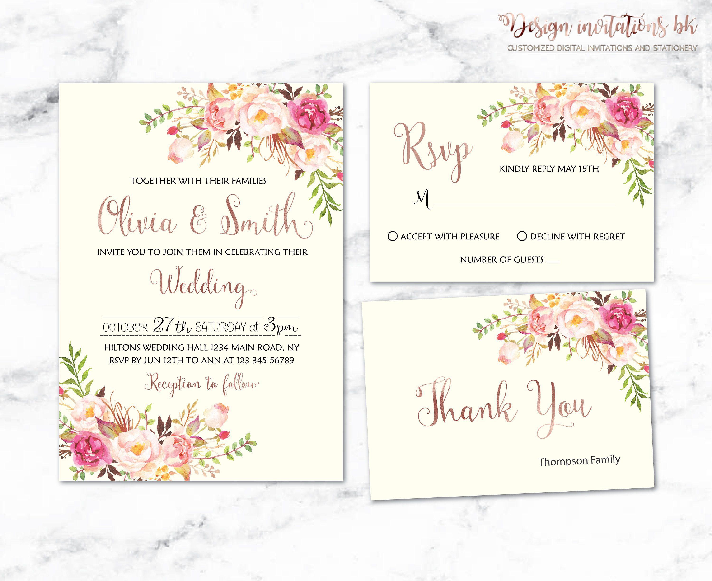 001 Unusual Sample Wedding Invitation Template Design  Templates Wording CardFull