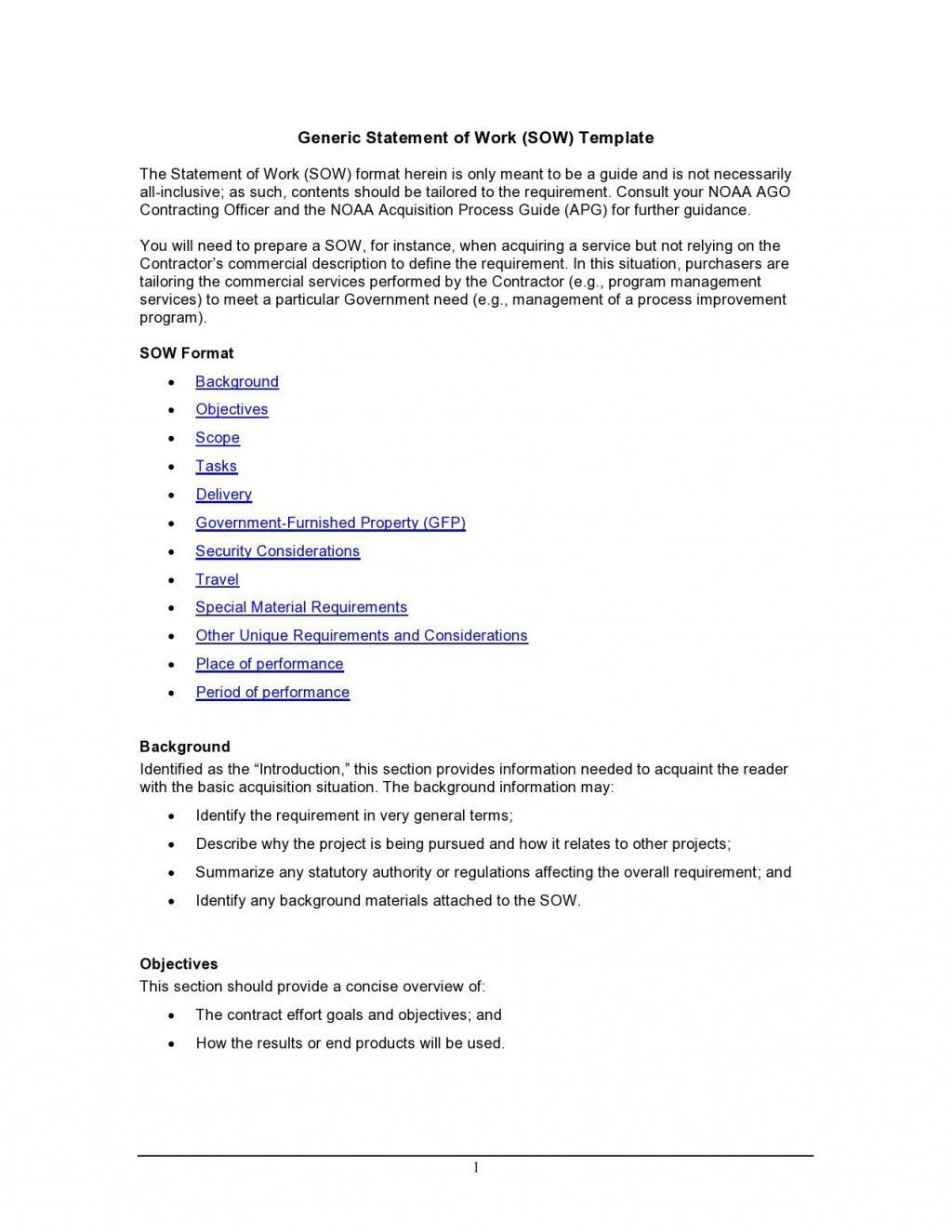 001 Unusual Scope Of Work Template Microsoft Word Inspiration Large