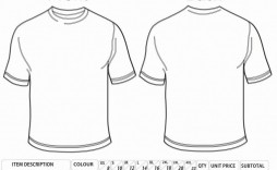 001 Unusual Shirt Order Form Template Sample  Templates T Microsoft Word Excel Download Tee