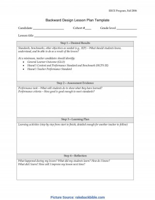 001 Unusual Simple Lesson Plan Template Image  Basic Format For Preschool Doc Kindergarten320