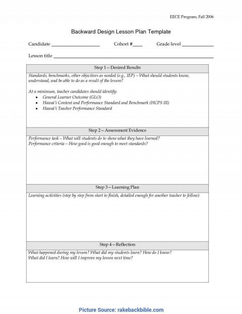 001 Unusual Simple Lesson Plan Template Image  Basic Format For Preschool Doc Kindergarten480