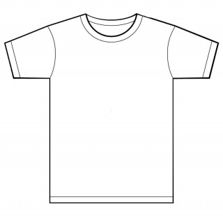 001 Unusual T Shirt Template Free Sample  White Psd Download Design Website320