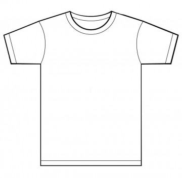 001 Unusual T Shirt Template Free Sample  White Psd Download Design Website360
