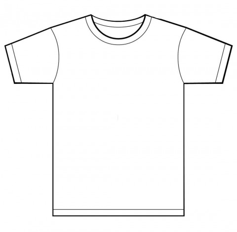 001 Unusual T Shirt Template Free Sample  White Psd Download Design Website480