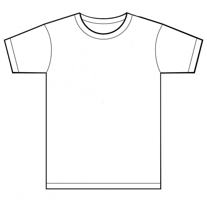 001 Unusual T Shirt Template Free Sample  White Psd Download Design Website728