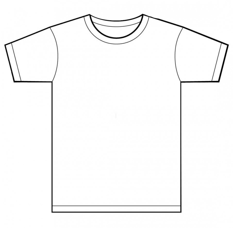 001 Unusual T Shirt Template Free Sample  White Psd Download Design Website960