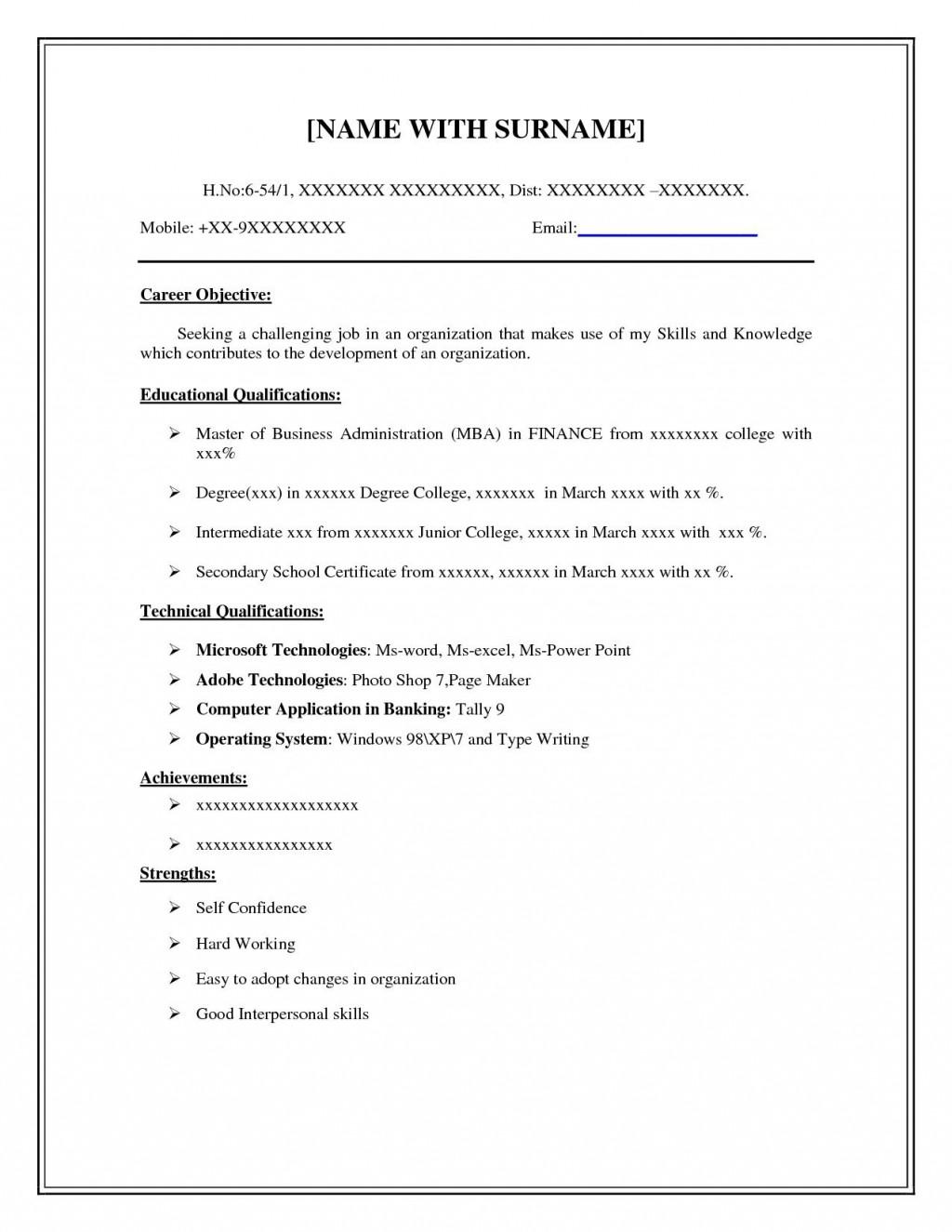 001 Wonderful Basic Resume Template Free High Def  Easy Download Word Australia DocLarge