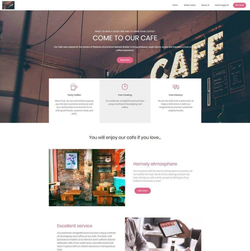 001 Wonderful Bootstrap Website Template Free Download Image  2017 2020Large