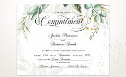 001 Wonderful Certificate Of Marriage Template Idea  Word Australia