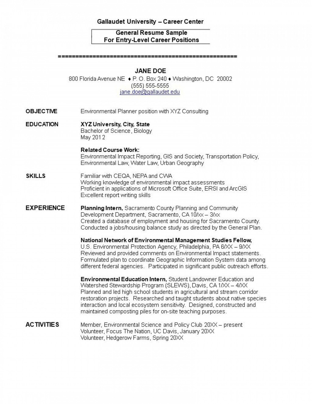 001 Wonderful Entry Level Resume Template Word Download Highest Quality Large
