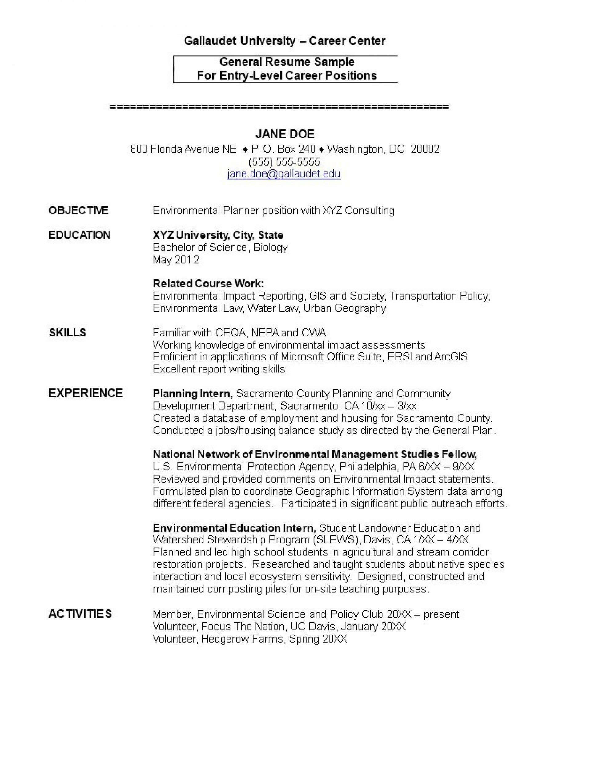 001 Wonderful Entry Level Resume Template Word Download Highest Quality 1920