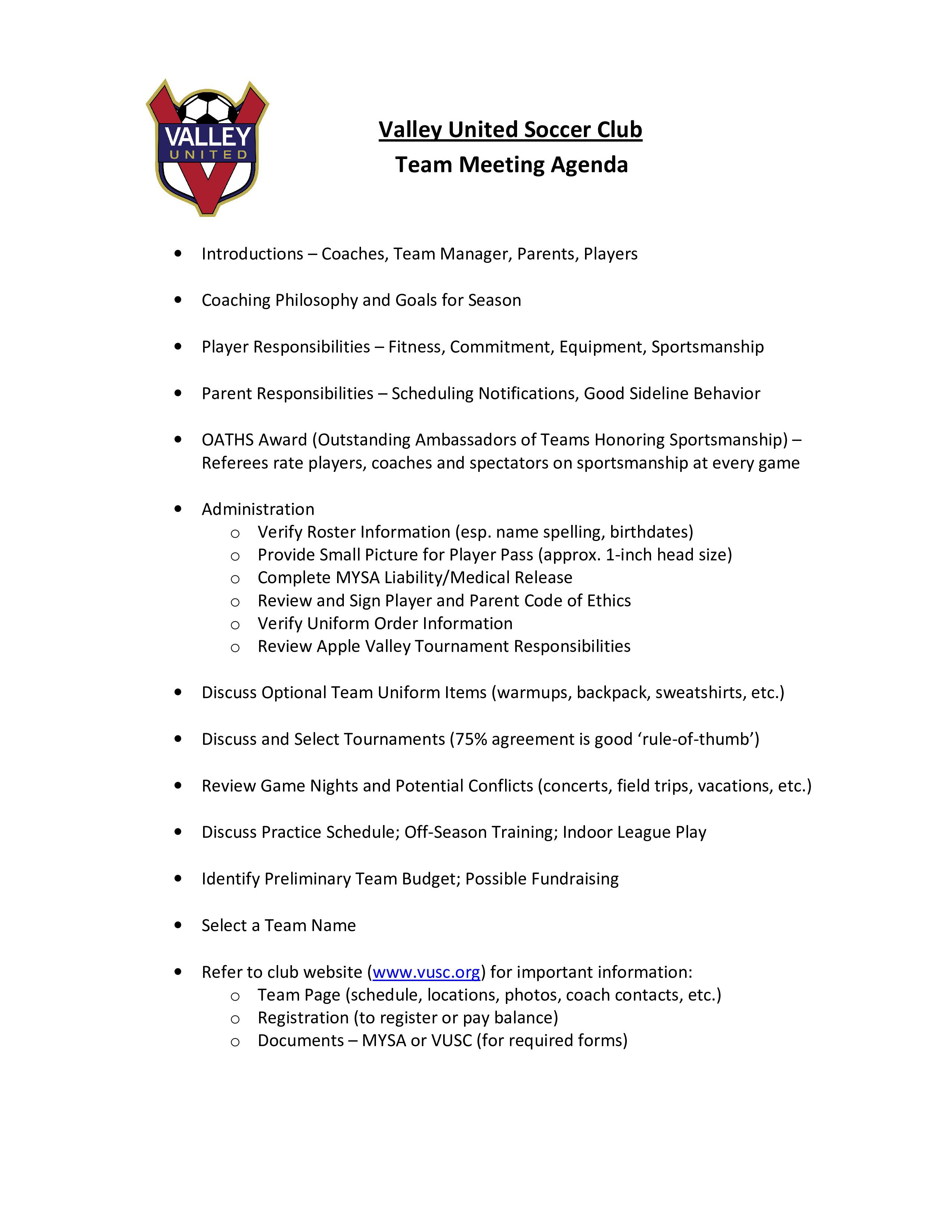 001 Wonderful Formal Meeting Agenda Template High Resolution  Board Example PdfFull