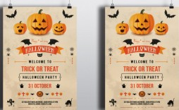 001 Wonderful Free Halloween Party Flyer Template Example  Templates
