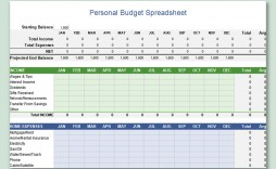 001 Wonderful Free Microsoft Excel Personal Budget Template Photo  Templates